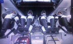 (VIDEO) Imagini exclusive ale interiorului navei spațiale SpaceX Crew Dragon Endeavor din timpul misiunii spațiale