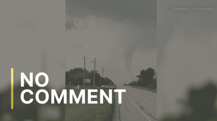 Nordul statului american Texas, lovit de tornade