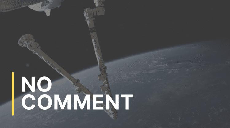 """Brațul robotic al ISS """"dansează"""" spectaculos deasupra Pământului"""