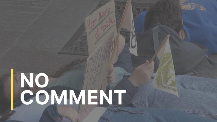 Protestul Die-in/Умирание, la Ministerul Agriculturii, Dezvoltării Regionale și Mediului