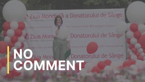 Ziua mondială a donatorului de sânge: Împreună suntem eroi!
