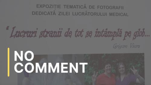 Expoziție foto dedicată cadrelor medicale, în Capitală