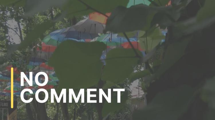 """Festivalul umbrelelor, în parcul """"Alunelul"""" din sectorul Buiucani"""