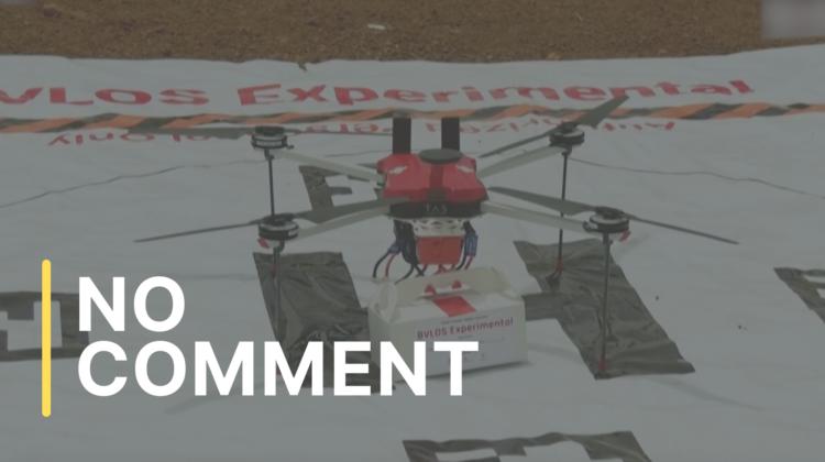 India folosește drone pentru livrarea vaccinului anti-Covid
