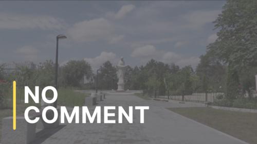 Lucrările de amenajare a scuarului în memoria victimelor catastrofei de la Cernobîl, finalizate