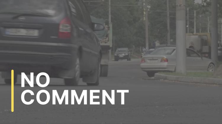 Circulația rutieră pe strada Ion Creangă a fost parțial reluată