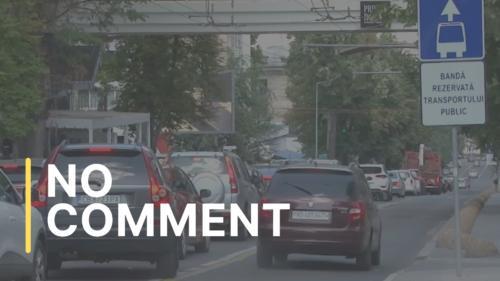 Șoferii (nu) respectă și (nu) acordă prioritate transportului public, în Capitală