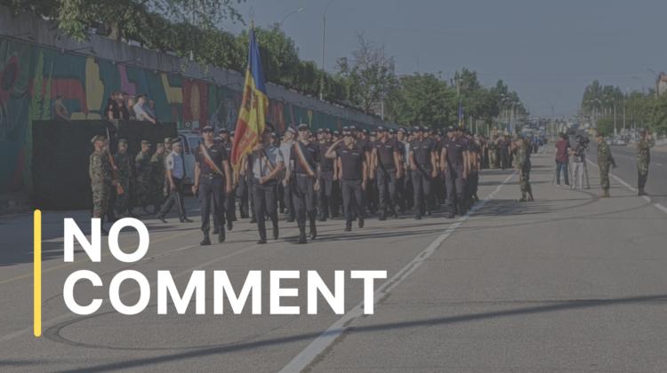 Repetițiile pentru parada militară din 27 august 2021 continuă
