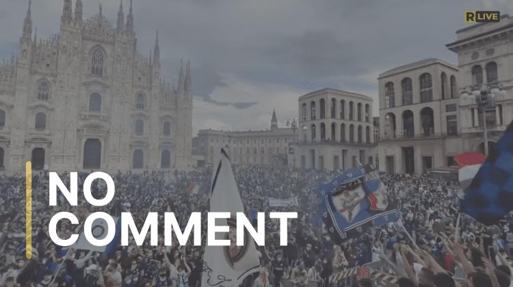 Sărbătoare la Milano! Fanii lui Inter nu au mai ţinut cont de pandemie
