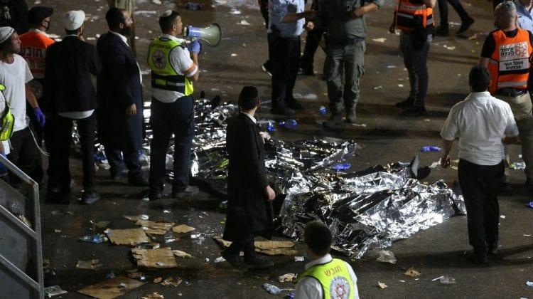 Nenorocire în Israel. 44 de persoane au murit într-o busculadă la cel mai mare pelerinaj de până la pandemie