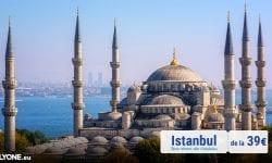 Un singur oraș – două continente!  FLYONE lansează zborurile spre Istanbul, de la 39 EURO