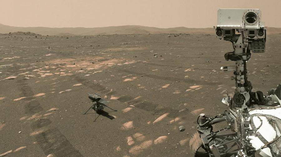 Omenirea scrie o nouă istorie pe planeta Marte