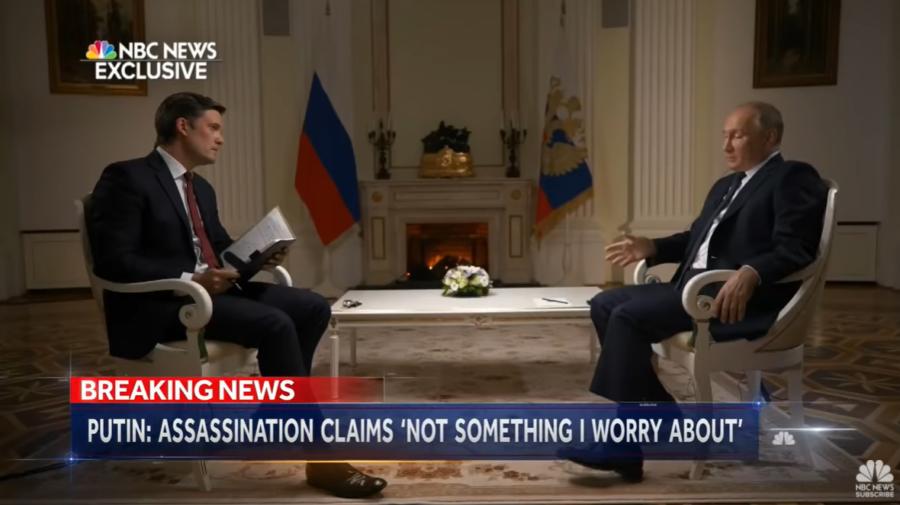 VIDEO Putin a răspuns dacă se consideră un ucigaș la televiziunea americană. A acordat un interviu de 90 de minute!