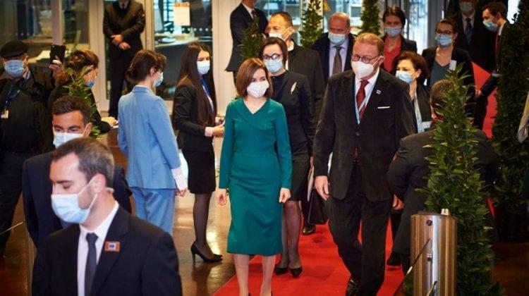 Cheltuielile Maiei Sandu pentru vizita de la Strasbourg, făcute publice. Pentru ce au fost achitați cei mai mulți bani