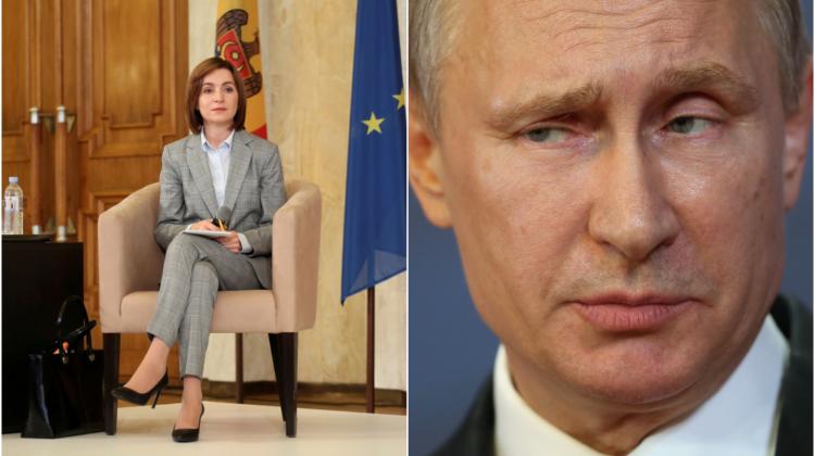 Președinta Maia Sandu a transmis trei mesaje azi, printre care unul este adresat lui Vladimir Putin