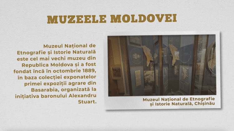 Muzeul Național de Etnografie și Istorie Naturală, Chișinău