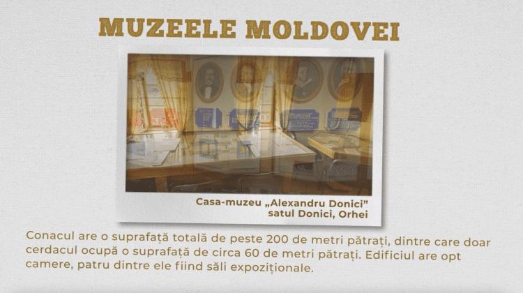 """Casa-muzeu """"Alexandru Donici"""", satul Donici, Orhei"""