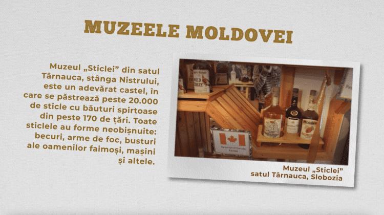 """Muzeul """"Sticlei"""", satul Tărnauca, Slobozia"""