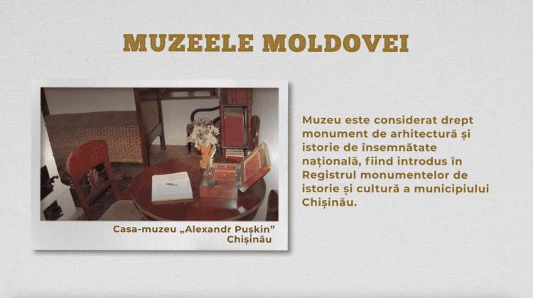 """Casa-muzeu """"Alexandr Pușkin"""", Chișinău"""