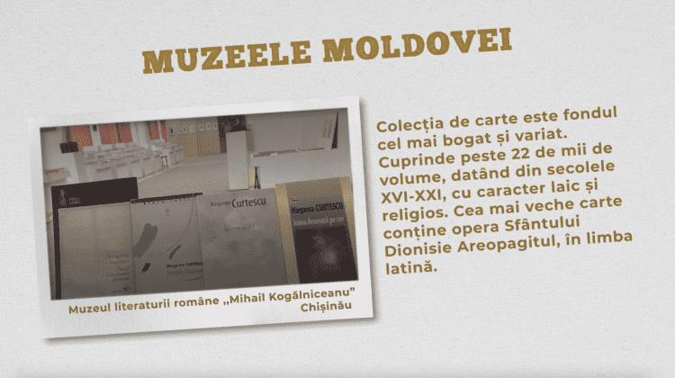 """Muzeul literaturii române """"Mihail Kogălniceanu"""", Chișinău"""
