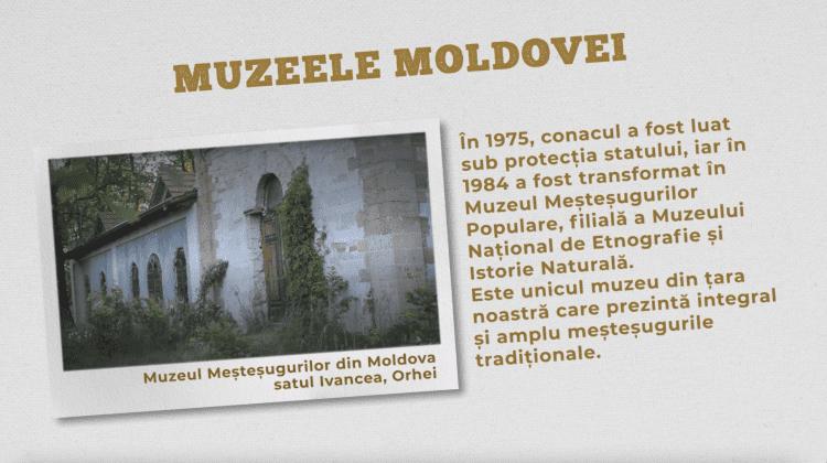 Muzeul Meșteșugurilor din Moldova, satul Ivancea, Orhei