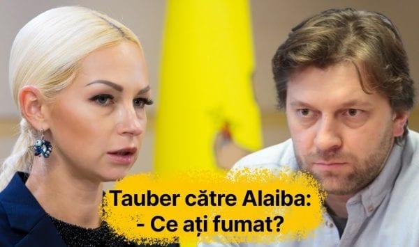 (STOP CADRU) Tauber către Alaiba: Ce ați fumat și băut dimineață înainte de a veni la ședința Parlamentului?