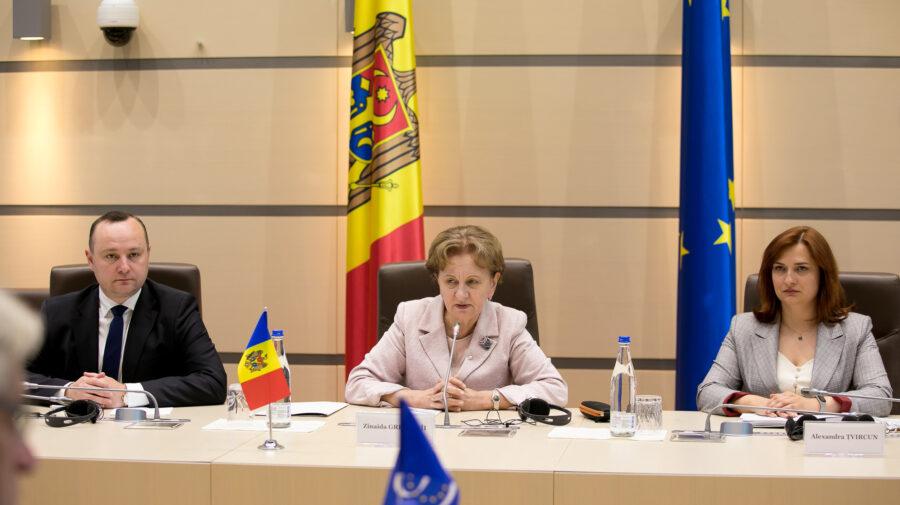 Delegația APCE, în vizită și la Parlament. S-a întâlnit cu Greceanîi și urmează să se vadă cu liderii fracțiunilor