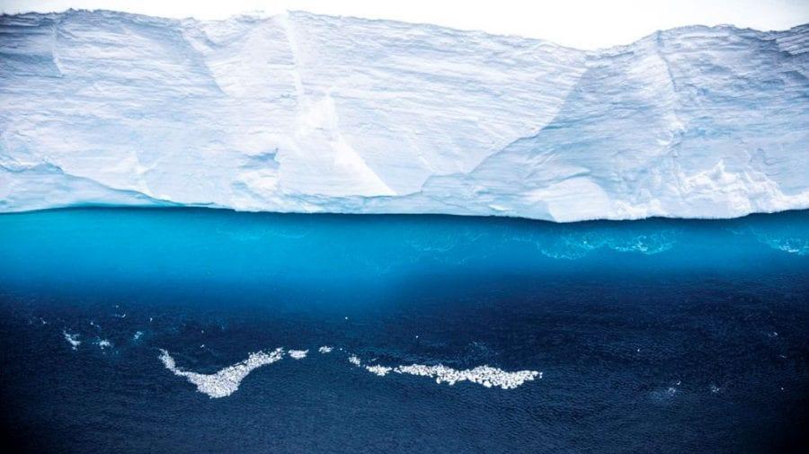 (VIDEO) A68 – cel mai mare aisberg din lume, s-a topit