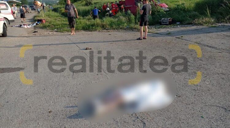 FOTO +18 Accident de groază pe traseul Chișinău-Răzeni. O fetiță de cinci ani și-a pierdut viața