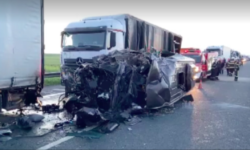 Care este starea tânărului moldovean, în urma accidentului grav care a avut loc pe o autostradă din România