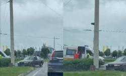 (VIDEO) Accident rutier în sectorul Rîșcani al Capitalei! Șoferi, evitați zona