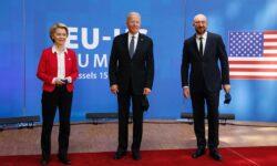 Acord major: Joe Biden și liderii UE au decis suspendarea tarifelor vamale de miliarde $ în disputa Airbus-Boeing