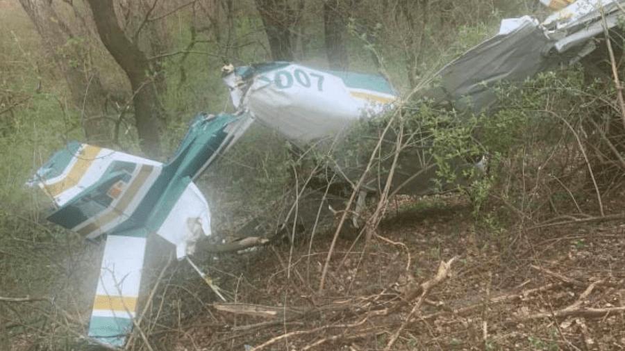 (FOTO) Accident aviatic la Vadul lui Vodă. Avionul s-a prăbușit de la aproximativ 300 de metri