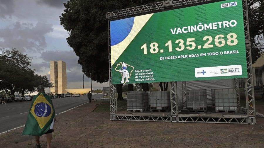 """Brazilia refuză utilizarea vaccinurilor anti-COVID-19 """"Sputnik V"""" produs de Rusia"""
