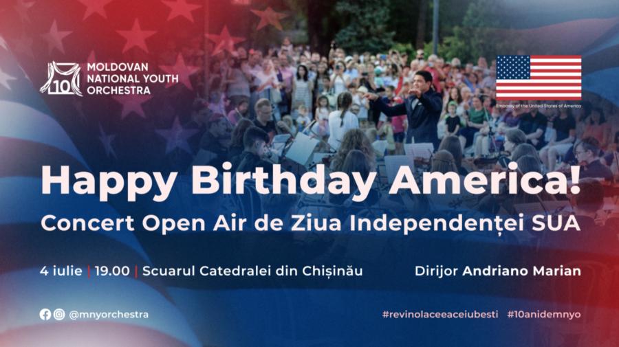 Cine VREA la concerte cu intrare liberă? TREI evenimente în TREI locații diferite de Ziua Independenței SUA