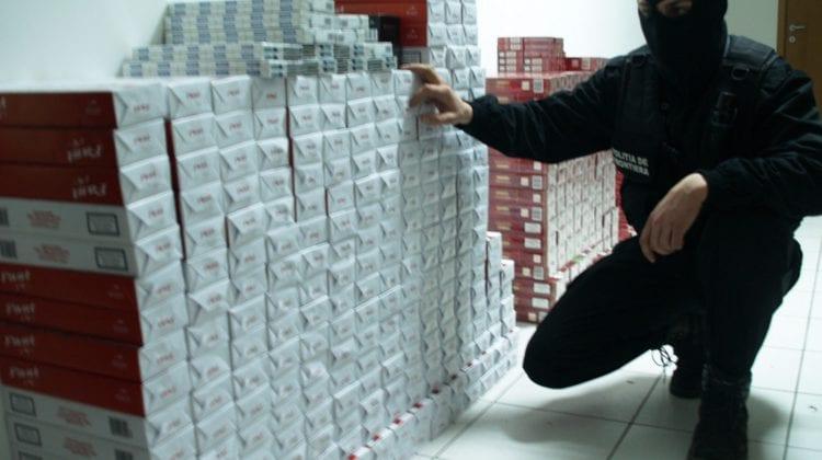 Contrabandă cu țigări la Briceni. Liderul grupului infracțional, reținut pentru 72 de ore