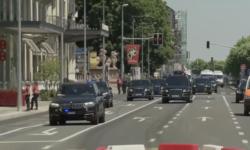VIDEO Vladimir Putin, pe străzile din Geneva! Cortegiul prezidențial este alcătuit din cel puțin 20 de automobile