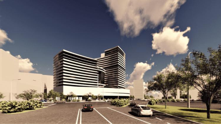 """Hotelul """"Național"""" va deveni simbol al viitorului. Pogolșa, Modîrcă și Botgros, despre construcția noului complex"""
