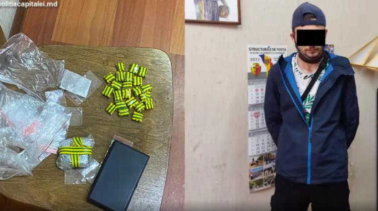 (VIDEO) Afacere cu droguri, dată peste cap! Un locuitor al Capitalei urma să obțină un profit de 20 mii de lei