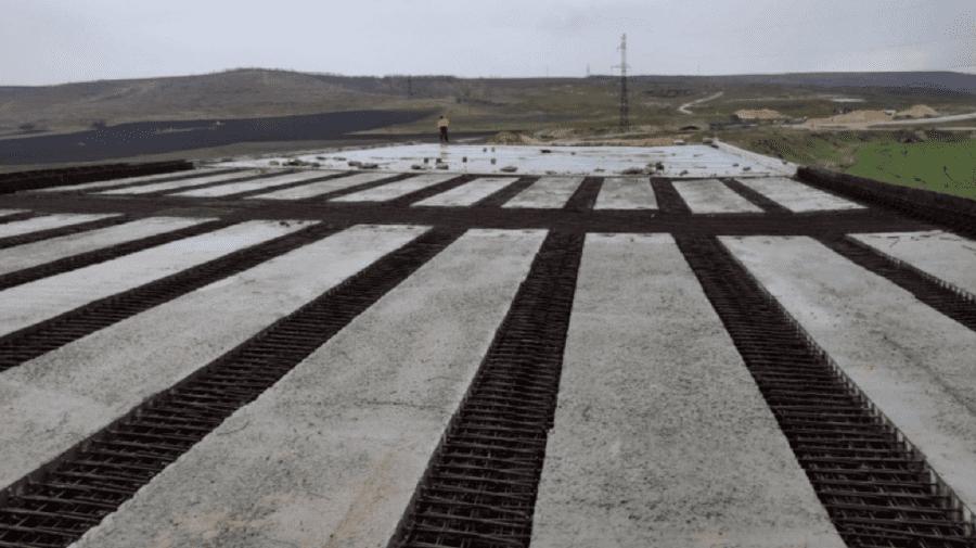 (FOTO) Aproape jumătate din lucrările drumului național Porumbrei-Cimișlia au fost efectuate. Care este termenul limită