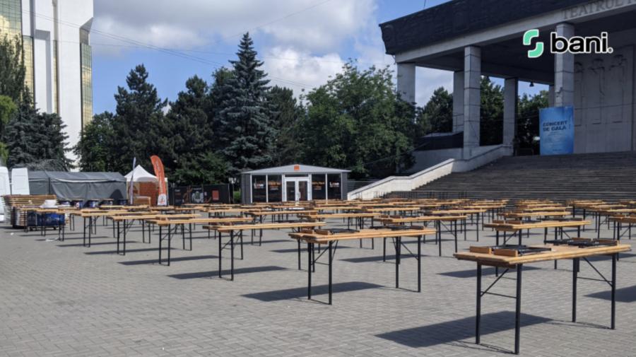 EURO 2020! Unde poți urmări competiția în aer liber în Chișinău