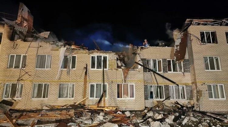 (VIDEO) Rusia: O explozie de gaz din regiunea Nijni Novgorod, s-a soldat cu șapte victime și un deces