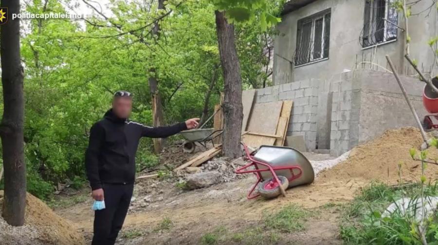 VIDEO Culmea hoției în Chișinău! Riscă până la patru ani de pușcărie pentru că a furat o betonieră