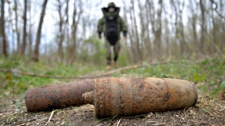 (VIDEO) Geniştii Armatei Naţionale – în acțiune. Câte obiecte explozive au depistat geniștii de la începutul anului