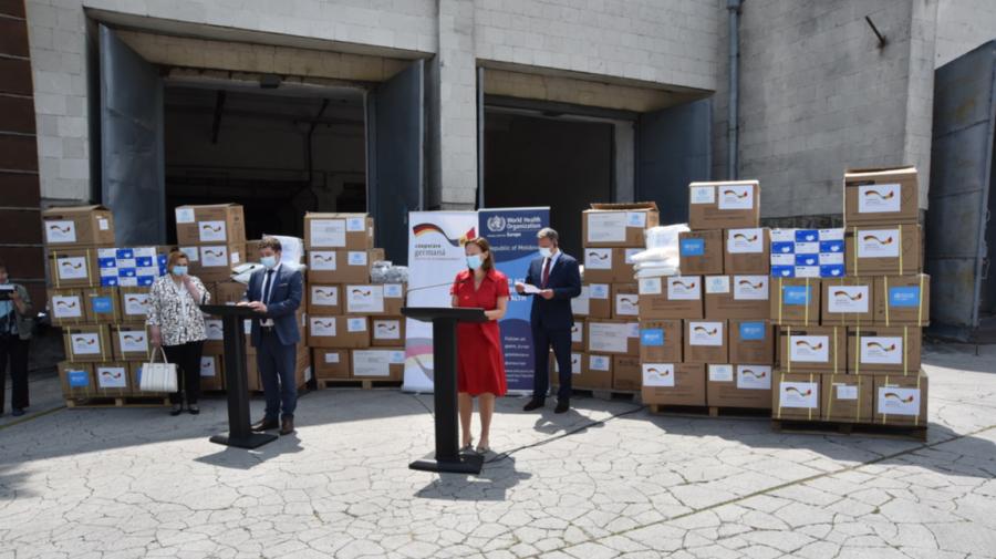FOTO Germania întinde, din nou, o mână de ajutor țării noastre. Donația a ajuns, astăzi, la Chișinău
