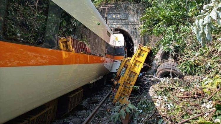 (VIDEO) Momentul impactului celui mai grav accident feroviar din istoria Taiwanului