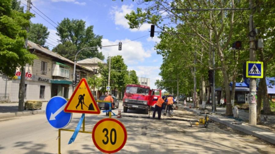Trafic rutier SUSPENDAT pe o stradă din Chişinău! Perioada anunțată de municipalitate