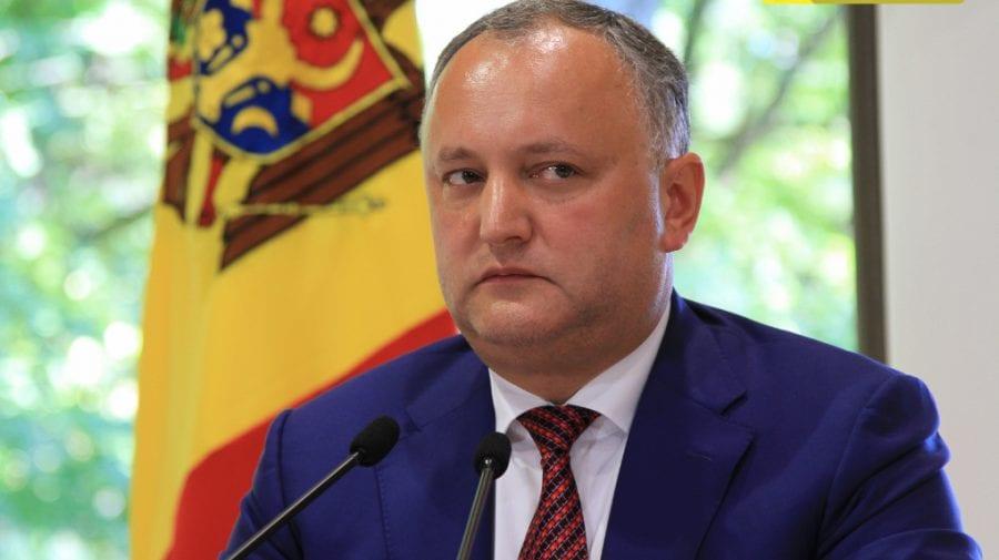 Igor Dodon amenință cu nerecunoaștere ultimei hotărârii CC și demisia judecătorilor Înaltei Curți