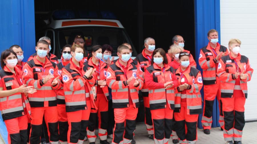 Condiții EURO pentru medicii de pe ambulanță din Iargara, raionul Leova! Angajații au trecut la casă nouă