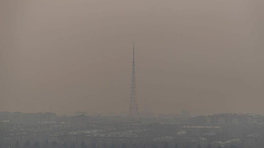 (FOTO) Novosibirskul acoperit de smog neliniștește autoritățile și populația orașului